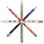 Colorful pencil decoration